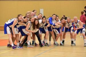 Basketball-Bundesliga Carina udn Annika