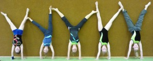 Schulwettkampf Handstand flach